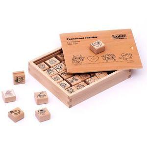Dřevěná rozlišovací razítka pro mateřské školky - Oblíbené