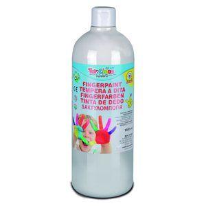 Prstová barva Toy Color - 1000 ml - bílá