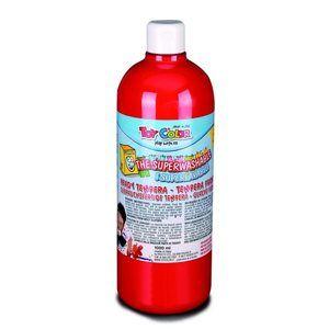 Temperová barva Toy Color - 1000 ml - červená