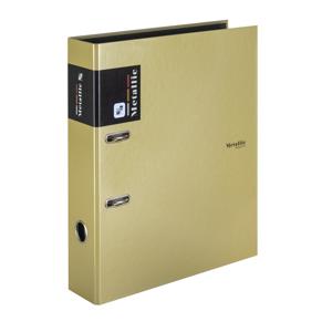 Karton PP Metallic Pořadač pákový A4 7 cm lamino - zlatá