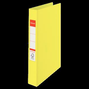 Kroužkový pořadač Esselte Colour'Ice A4 2kr/2,5 cm - ledově žlutá