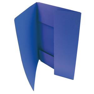 HIT Odkládací mapa A4 tříklopá Classic - modrá