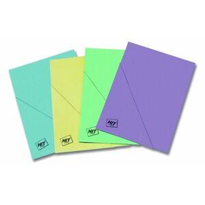 HIT Odkládací deska s rohem A4 Classic - fialová