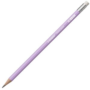 STABILO Swano Pastel Grafitová tužka s pryží HB - fialová