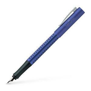 Plnicí pero Faber-Castell Grip 2011 F - modrá