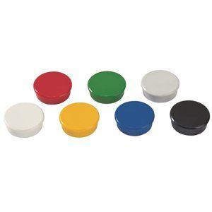 DAHLE Magnet plánovací, Ø 38 mm, 10 ks - mix barev