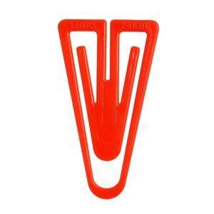 RON Dopisová spona plastová tvar V 60 mm - 10 ks