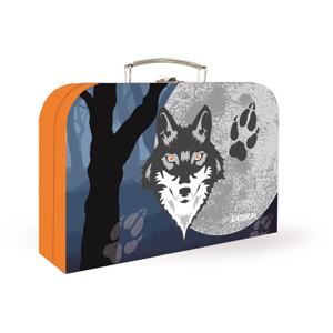 Dětský kufřík lamino 34 cm - Vlk 2020