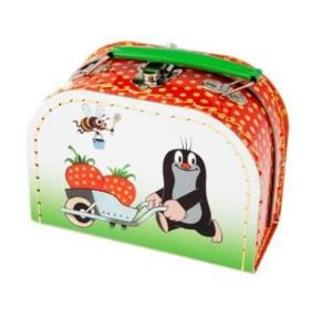 Kufřík Krtek a jahody šitý 16x12x8 cm