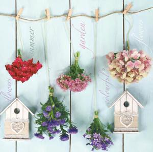 Stil Ubrousky 33 x 33 dekorativní - Flowers
