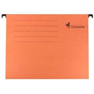 Victoria Závěsné zakládací desky A4 - oranžové