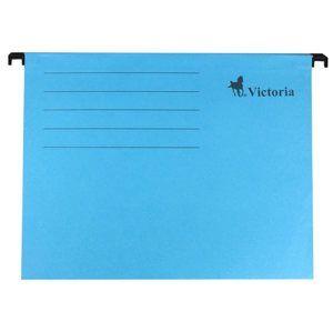 Victoria Závěsné zakládací desky A4 - modré