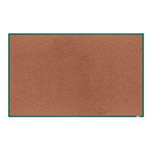 boardOK Korková tabule s hliníkovým rámem 200 × 120 cm, zelený rám