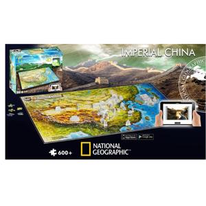 4D Puzzle National Geographic Starověká Čína