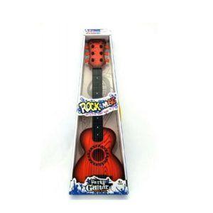Kytara s trsátkem plastová, 65cm, mix barev
