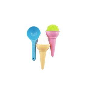 Formičky Bábovky na písek zmrzlina 3 ks