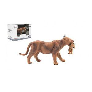 Zvířátka safari ZOO 13 cm lvice