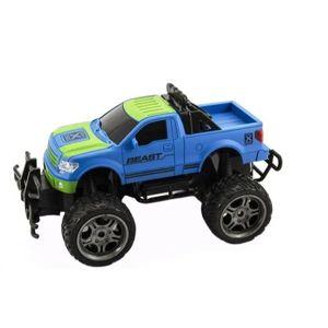 Auto RC terénní plast 30 cm velká kola na dálkové ovládání na baterie