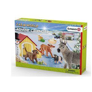 Schleich 97448 Adventní kalendář zvířátka ze statku