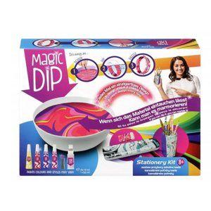 Kreativní sada Magic Dip malování s příslušenstvím kancelářské potřeby