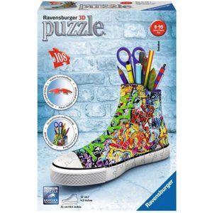 Puzzle 3D Kecka Graffiti 108 dílků
