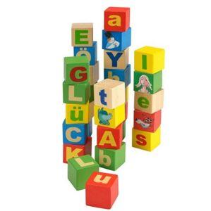 Dřevěné kostky - písmena