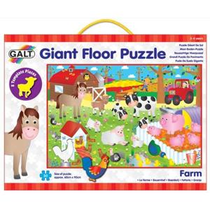 Velké podlahové puzzle – na farmě (60×90cm)