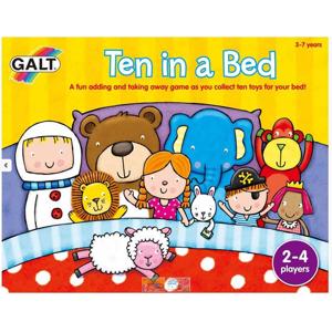10 v posteli - zábavná hra, která naučí děti počítat