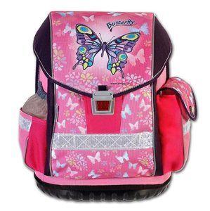 Školní aktovka Emipo ERGO ONE - Butterfly