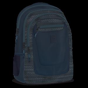Studentský batoh Ars Una - Autonomy AU4 šedo-modrý