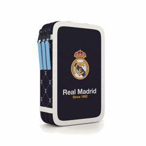 Penál 3patrový prázdný - Real Madrid