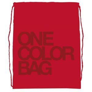 Studentský vak One Colour červený