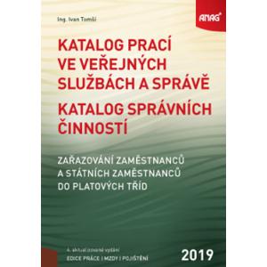 Katalog prací ve veřejných službách a správě 2019 - Ing. Ivan Tomší