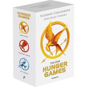 HUNGER GAMES – komplet, výroční vydání 1.-3.díl - box - Suzanne Collins