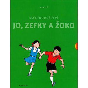 Dobrodružství Jo, Zefky a Žoko - kompletní vydání 1-5 - Hergé