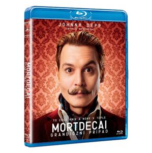 Mortdecai : Grandiózní případ Blu-ray