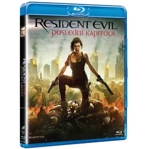 Resident Evil: Poslední kapitola Blu-ray