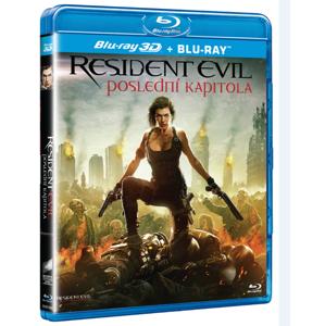Resident Evil: Poslední kapitola Blu-ray 3D + 2D