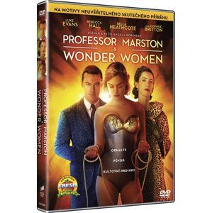 DVD Professor Marston a The Wonder Women