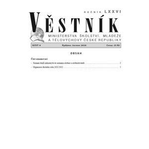 Věstník MŠMT ČR 2020/004
