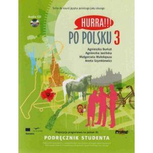 Hurra !!! Po polsku 3 - učebnice + audio CD - Burkat, Jasinska, malolepsza, Szymkiewic