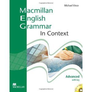 Macmillan English Grammar in Context Advanced with key + CD-ROM - Vince Michael