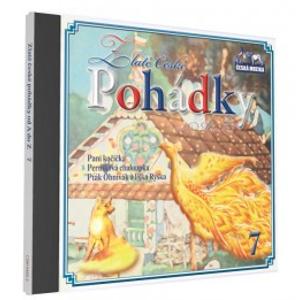 CD Zlaté české pohádky od A do Z 7 - neuveden