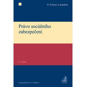 Právo sociálního zabezpečení, 6. vydání - Petr Trster a kolektiv