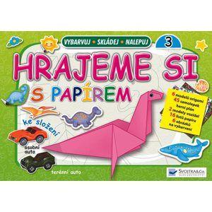 Hrajeme si s papírem 3 (zelená) - Origami a skládačky - neuveden