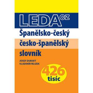 Španělsko-český a česko-španělský slovník - Dubský Josef, Rejzek Vladimír
