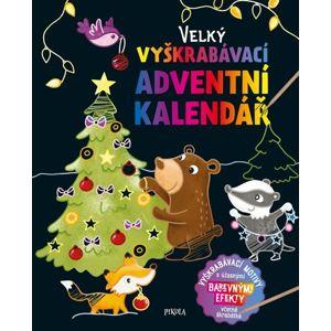 Velký vyškrabávací adventní kalendář - neuveden