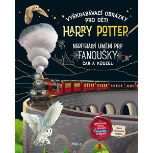 Vyškrabávací obrázky pro děti: Harry Potter - neuveden