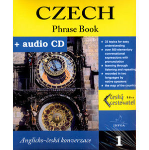 Czech - Phrase Book + CD - kolektiv autorů