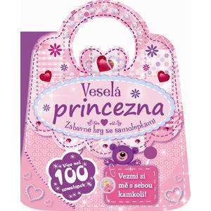 Veselá princezna - Zábavné hry se samolepkami - neuveden